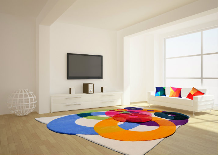 Colorful Contemporary Rugs  Colorful Contemporary Rugs Colorful Contemporary Rugs 5