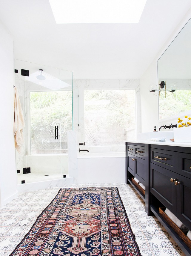 Persian rugs for your bathroom design 3 persian rugs Persian rugs for your bathroom design Persian rugs for your bathroom design 3