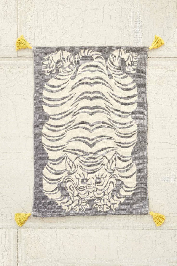 Stylish rugs for a instant refresh - Magical Thinking Lakra Tiger Printed Rug stylish rugs Stylish rugs for an instant refresh Stylish rugs for a instant refresh Magical Thinking Lakra Tiger Printed Rug